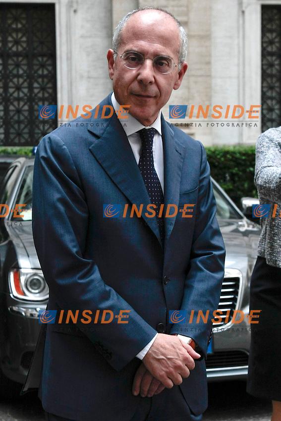 Francesco Starace<br /> Roma 30-05-2014 Auditorium Parco della Musica. Assemblea Annuale della Banca d'Italia - Bankitalia 2014.<br /> Annual Assembly of Bankitalia 2014.<br /> Photo Samantha Zucchi Insidefoto