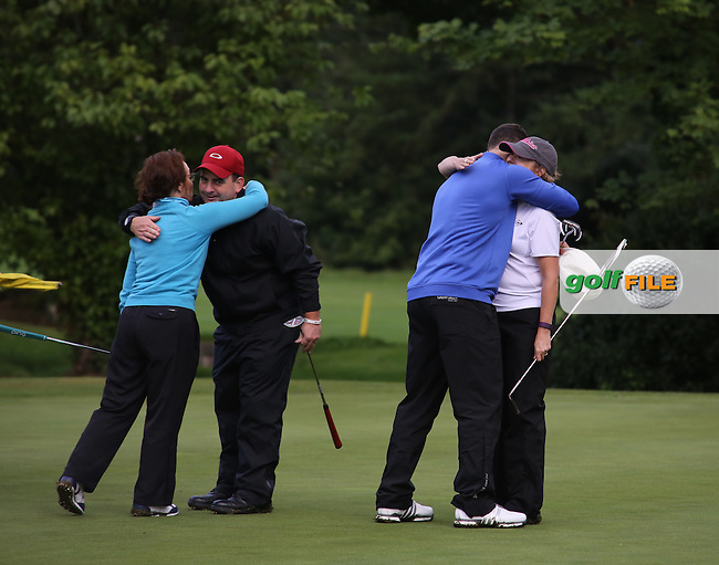 Ulster Mixed Foursomes Final, Shandon Park Golf Club, Belfast. 19/08/2016<br /> <br /> Picture Jenny Matthews / Golffile.ie<br /> <br /> All photo usage must carry mandatory copyright credit (© Golffile | Jenny Matthews)