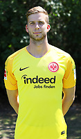 Torwart Felix Wiedwald (Eintracht Frankfurt) - 26.07.2018: Eintracht Frankfurt Mannschaftsfoto, Commerzbank Arena