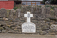 Execution spot of John Watters<br /> John (23) and his brother Patrick (18) taken at 2.00pm June 18th 1921 and murdered by a Black and Tan detachment not twenty yards from their home, as a reprisal for the killing of a ' Black and Tan Auxiliary'  William Campbell (21), a native of Dumbarton, Scotland by an IRA unit at Dowdallshill, three hours before.