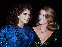 Catherine Deneuve and Brooke Shields 1983<br /> Photo By John Barrett/PHOTOlink