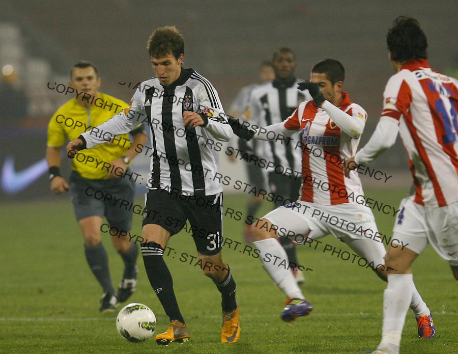 Scepovic Marko, Sport, Fudbal, Crvena Zvezda  Partizan, 26.11.2011 (photo: Pedja Milosavljevic / thepedja@gmail.com / +381641260959)