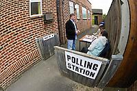 General Election Polling Station..©shoutpictures.com..john@shoutpictures.com.