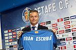 20150630. Getafe's new coach Fran Escriba.