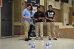 Sterling High School competed in the Dream On Steam On student showcase at Northside HS with their lighted spinning robots.