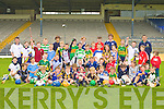 Young hurlers who took part in the South Kerry Hurling development Cu?l Camp in Fitzgerald Stadium on Tuesday