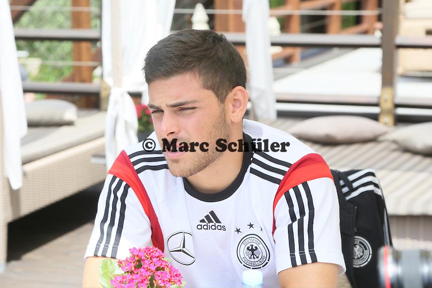 Kevin Volland - Media Day der Deutschen Nationalmannschaft zur WM-Vorbereitung in St. Martin