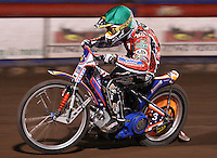 Jason Crump of Belle Vue - Lakeside Hammers vs Belle Vue Aces at The Arena Essex Raceway, Lakeside - 10/09/08 - MANDATORY CREDIT: Rob Newell/TGSPHOTO