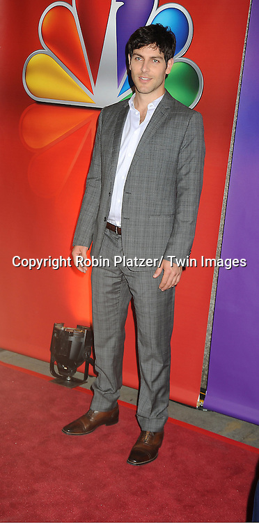 David Giuntoli attends the NBC Upfront Presentation of 2012-2013 Season at Radio City Music Hall on May 14, 2012 in New York City.