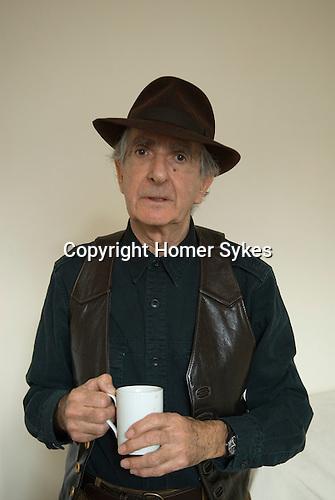 Neil Libbert photographer at home London 2009.