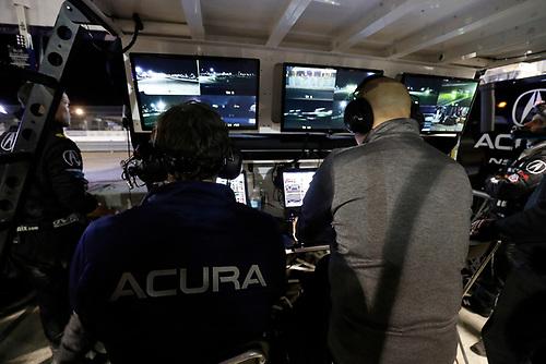 2017 IMSA WeatherTech SportsCar Championship<br /> Mobil 1 Twelve Hours of Sebring<br /> Sebring International Raceway, Sebring, FL USA<br /> Saturday 18 March 2017<br /> 86, Acura, Acura NSX, GTD, Oswaldo Negri Jr., Tom Dyer, Jeff Segal team<br /> World Copyright: Michael L. Levitt/LAT Images<br /> ref: Digital Image levitt_seb_0317-32435