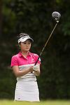HONG KONG, HONG KONG - JUNE 10:Golfer Yilin  Song of China  during the 2017 Hong Kong Ladies Open on June 10, 2017 in Hong Kong, China. Photo by Marcio Rodrigo Machado / Power Sport Images