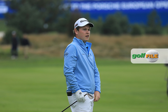 Robert Macintyre (SCO) during the third round of the Porsche European Open , Green Eagle Golf Club, Hamburg, Germany. 07/09/2019<br /> Picture: Golffile | Phil Inglis<br /> <br /> <br /> All photo usage must carry mandatory copyright credit (© Golffile | Phil Inglis)