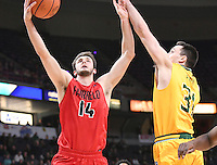 Siena defeats Fairfield 78-66 in a quarterfinal game of the MAAC tournament on March 04, 2017 at the Times Union Center in Albany, New York.  (Bob Mayberger/Eclipse Sportswire)