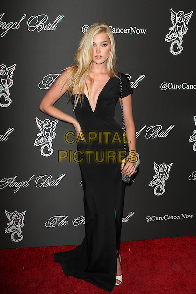 NEW YORK, NY - OCTOBER 20: Elsa Hosk pictured at Angel Ball 2014 hosted by Denise Rich at Cipriani's in New York City on October 20, 2014.  <br /> CAP/MPI/DIE<br /> &copy;Diego Corredor/ MediaPunch/Capital Pictures