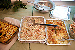 A Greek Orthodox feast is shared by friends and family on Easter Sunday at the home of Nick and Andrea Koulouris in Tucker, Georgia April 24, 2011...Kendrick Brinson/LUCEO