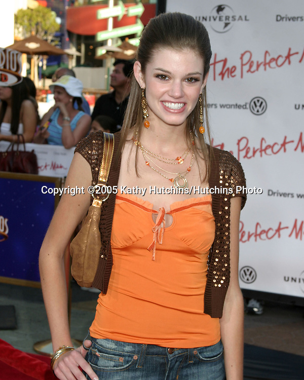 "Rachel Melvin.""The Perfect Man"" Premiere.Los Angeles, CA.June 13, 2005.©2005 Kathy Hutchins/Hutchins Photo"