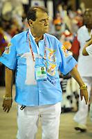 RIO DE JANEIRO, RJ, 20 DE FEVEREIRO DE 2012 - Desfiles das Escolas de Samba do Grupo Especial -  União da Ilha do Governador, Ney Fillardi, Presidente da escola, durante o desfile da escola na Marquês de Sapucaí. FOTO GLAICON EMRICH - AGÊNCIA BRAZIL PHOTO PRESS