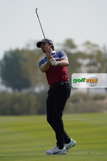 Pedro Figueiredo (POR) during the final round of the Commercial Bank Qatar Masters 2020, Education City Golf Club , Doha, Qatar. 08/03/2020<br /> Picture: Golffile | Phil Inglis<br /> <br /> <br /> All photo usage must carry mandatory copyright credit (© Golffile | Phil Inglis)