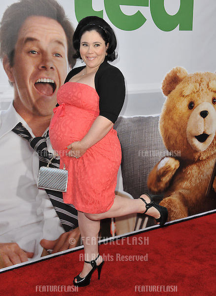 """Alex Borstein at the world premiere of her movie """"Ted"""" at Grauman's Chinese Theatre, Hollywood..June 22, 2012  Los Angeles, CA.Picture: Paul Smith / Featureflash"""