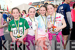 Having fun at the Jack and Jill run in Kenmare on Saturday. .L-R Julie O'Sullivan, Ellen Torpey, Leonie Dowlingand Rebecca O'Sullivan.