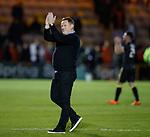 11.05.2018 Livingston v Dundee Utd: David Hopkin celebrates