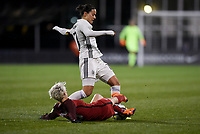 Columbus, Ohio - Thursday March 01, 2018: Megan Rapinoe, Verena Faißt during a 2018 SheBelieves Cup match between the women's national teams of the United States (USA) and Germany (GER) at MAPFRE Stadium.