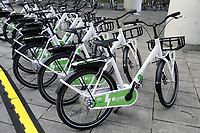 - Milano, primo raduno internazionale dei veicoli elettrici &quot;E_mob2018 &egrave;  tempo di ricarica!&quot;. Biciclette elettriche a pedalata assistita Bitride Zehus per il bike sharing<br />