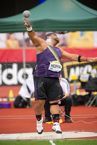 14th Aug 2010, Crystal Palace, Crystal Palace, Samsung Diamond League, Diamond League Athletics,  Reese Hoffa of USA winner of the Shot put with 21.44