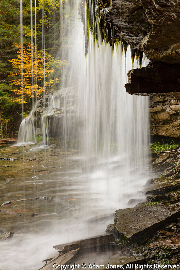 Au Train waterfall, Upper Peninsula of Michigan.