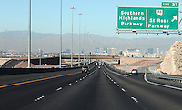 LAS VEGAS-ESTADOS UNIDOS. Entrada a la ciudad de Las Vegas, sitio de descanso y placer de turistas y residentes americanos. Photo: VizzorImage