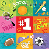 Sarah, CUTE ANIMALS, LUSTIGE TIERE, ANIMALITOS DIVERTIDOS, paintings+++++Sports-17-A,USSB536,#AC#, EVERYDAY ,soccer,sports