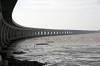 A view of the Donghai Bridge in Shanghai, China. The 30.87 sea bridge connects Shanghai with its deep water shipping port project at the Small Yangshan Mountain and will be open to traffic at the end of 2005..27 Jun 2005