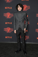 Finn Wolfhard at the premiere for Netflix's &quot;Stranger Things 2&quot; at the Westwood Village Theatre. Los Angeles, USA 26 October  2017<br /> Picture: Paul Smith/Featureflash/SilverHub 0208 004 5359 sales@silverhubmedia.com
