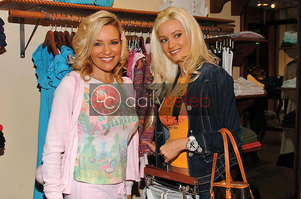 """Bridget Marquardt and Holly Madison<br />at the Worldwide unveiling of the all new """"Fox Film Icons"""" clothing line. Lisa Kline, Los Angeles, CA. 02-02-06<br />Scott Kirkland/DailyCeleb.Com 818-249-4998"""