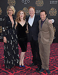 "Jenna Elfman,guest,Richard Elfman and Bodhi Elfman attends The Premiere Of Disney's ""Alice Through The Looking Glass"" held at The El Capitan Theatre  in Hollywood, California on May 23,2016                                                                               © 2016 Hollywood Press Agency"