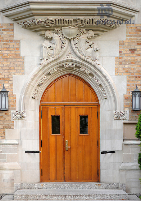 June 13, 2011; Dillon Hall Door..Photo by Matt Cashore/University of Notre Dame