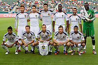 LA Galaxy starting eleven. The LA Galaxy beat Chivas USA 2-1 at Home Depot Center stadium in Carson, California on Sunday October 3, 2010.