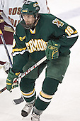 Andy Corran - The Boston College Eagles completed a shutout sweep of the University of Vermont Catamounts on Saturday, January 21, 2006 by defeating Vermont 3-0 at Conte Forum in Chestnut Hill, MA.