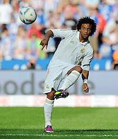 FUSSBALL   INTERNATIONAL   SAISON 2011/2012   TESTSPIEL Herha BSC Berlin - Real Madrid         27.07.2011      MARCELO da Silva Junior (Real Madrid) Einzelaktion am Ball