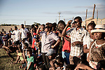 During a traditional fight show, a band and dancers entertain the crowd in Nosy Be, Madagascar.<br />Nosy Be is an island off the northwest coast of Madagascar. Nosy Be is Madagascar's largest and busiest tourist resort