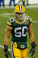 Green Bay Packers linebacker Blake Martinez (50) during a National Football League game against the Minnesota Vikings on December 23rd, 2017 at Lambeau Field in Green Bay, Wisconsin. Minnesota defeated Green Bay 16-0. (Brad Krause/Krause Sports Photography)