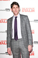 Daniel Tuite at the premiere of &quot;The Death of Stalin&quot; at the Curzon Chelsea, London, UK. <br /> 17 October  2017<br /> Picture: Steve Vas/Featureflash/SilverHub 0208 004 5359 sales@silverhubmedia.com