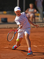 Netherlands, Rotterdam August 07, 2015, Tennis,  National Junior Championships, NJK, TV Victoria,  Bastiaan Weststrate<br /> Photo: Tennisimages/Henk Koster