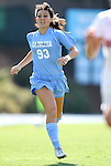28 August 2011: North Carolina's Brooke Elby. The University of North Carolina Tar Heels defeated the University of Houston Cougars 6-1 at Fetzer Field in Chapel Hill, North Carolina in an NCAA Women's Soccer game.