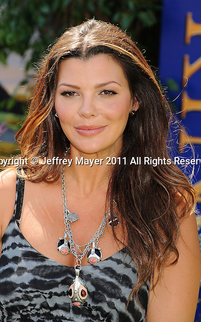 """HOLLYWOOD, CA - AUGUST 27: Ali Landry  arrives at """"The Lion King"""" Los Angeles 3D Premiere at the El Capitan Theatre on August 27, 2011 in Hollywood, California."""