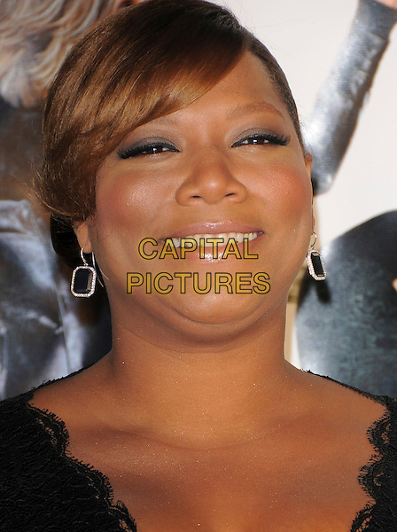 "QUEEN LATIFAH.Overature Pictures' L.A. Premiere of ""Mad Money"" held at The Mann Village Theatre in Westwood, California, USA..January 9th, 2008.headshot portrait earrings .CAP/DVS.©Debbie VanStory/Capital Pictures"