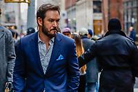 NOVA YORK,USA, 08.01.2019 - CELEBRIDADE-USA - O ator norte americano Mark-Paul Gosselaar é visto no bairro do Soho em Manhattan, New York nesta terça-feira, 08. (Foto: William Volcov/Brazil Photo Press)