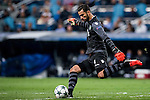 Goalkeeper Rui Patricio of Sporting Portugal in action during their 2016-17 UEFA Champions League match between Real Madrid vs Sporting Portugal at the Santiago Bernabeu Stadium on 14 September 2016 in Madrid, Spain. Photo by Diego Gonzalez Souto / Power Sport Images
