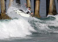 Brett Simpson. 2009 ASP WQS 6 Star US Open of Surfing in Huntington Beach, California on July 23, 2009. ..